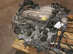 2009 SAAB 9-3 COMPLETE ENGINE ASSEMBLY AWD 2.0L 4CYL