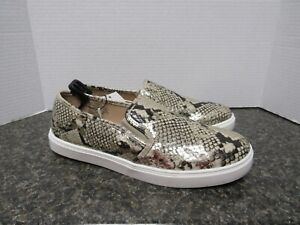 New Time and Tru Shoes Size 11 Snake Skin Color  All Man Made Elastic