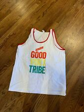 Red Stripe Beer Tank Top Jamaican Beer Gray Shirt In Size Large New