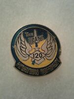 Authentic Beercan Insignia US Army 120th Aviation Company DUI Unit Crest