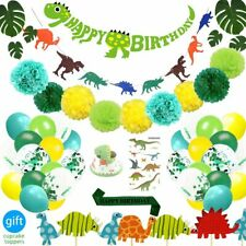 Dinosaur Party Supplies Decorations Set for Kids Birthday Party,Baby Shower