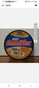 Zebco OmniFlex. 30 lbs. 250 yds. High strength line. FREE SHIPPING
