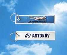 Antonov An-225 keychain keyring baggage luggage tag
