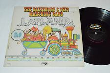 THE BALTIMORE & OHIO MARCHING BAND Lapland LP Jubilee JGM-8008 Mono VG/VG Canada
