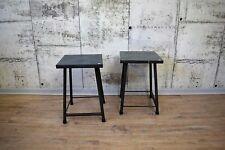 1von2 Industrie Hocker, Tisch, Beistelltisch, Metall.