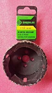 "GREENLEE 825-2-5/8, 2-5/8""  Bi-Metal Hole Saw"