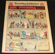 1949 Sunday Mirror Weekly Comic Section August 7th (Fine) Superman Lil Abner