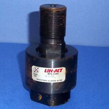 """LIN-ACT 1-1/4"""" THREAD SELF ALIGNING ROD END COUPLER, LC-1-20 *NEW*"""