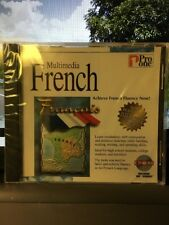 MULTIMEDIA FRENCH  PRO ONE CD ROM NEW 720286921157