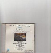 Clannad- Sirius Promo sampler cd
