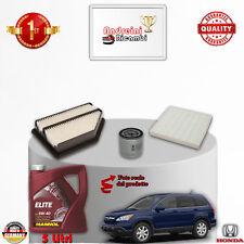 Replacement Filter Kit+Oil Honda Cr-V III 2.0 Vtec 110KW 150hp from 2007 ->
