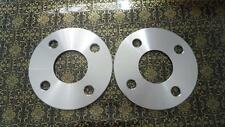 Two WHEEL HUBCENTRIC SPACERS 4X100MM | 8MM THICK | 56.1MM CB