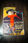 """ARISTIDE BRUANT BY TOULOUSE LAUTREC 23"""" x 33"""" Rolled Poster 1960's"""