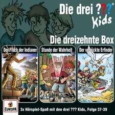 3 CDs * DIE DREI ??? (FRAGEZEICHEN) KIDS - BOX 13 - FOLGEN 37 - 39 # NEU OVP =