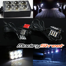 8PC WATERPROOF BRIGHT WHITE 48-LED PICKUP CARGO AREA/WORK BOX/TRUCK BED LIGHTS