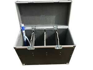 Jerry Can Fuel Transport Flight Case With Free Fluid Transfer Pump