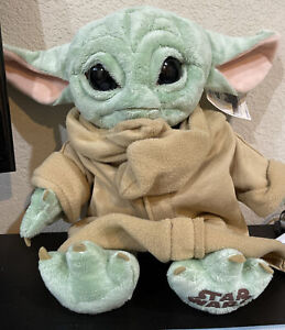 NEW BUILD-A-BEAR Star Wars The Mandalorian The Child Baby Yoda w/ sounds & music