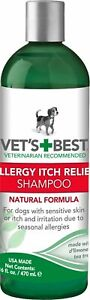 Veterinarian's Best Allergy Itch Relief Shampoo 16oz      Free Shipping