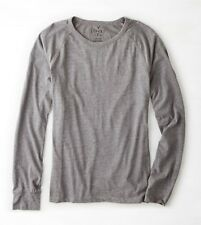 NEW Men's AE Classic Fit Legend Long Sleeve T-shirt Grey Medium