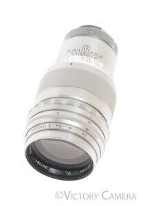 Steinheil Tele-Quinar 135mm f2.8 Exakta Lens (haze)