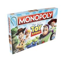 Monopoly Disney TOY STORY Board Game 2019 Celebrating All 4 Movies New Release