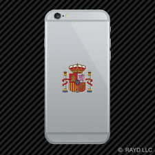 Spanish Coat of Arms Cell Phone Sticker Mobile Spain flag ESP ES