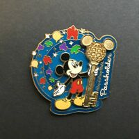 WDW - Annual Passholder Exclusive 2003 Mickey Holding Key Disney Pin 21630