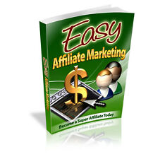 FREE BONUS~Easy Affiliate Marketing pro edition+Resell Rights Online Business