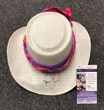 PAYNE STEWART JSA COA Autograph Fedora Hat Hand Signed Authentic