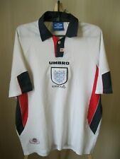 England national team 1997/1998/1999 home Size XL football shirt jersey maiilot