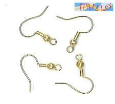 BIGIOTTERIA -  10 monachelle orecchini con filigrana - colore oro