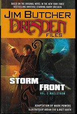 Dresden Files Storm Front Vol 2 by Jim Butcher & Mark Powers 2011, HC D.E. OOP