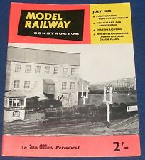MODEL RAILWAY CONSTRUCTOR JULY 1962 - BEVERLEY,DOWNCOOMBE & WYNFIELD RAILWAY