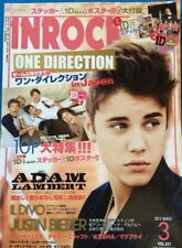 INROCK Japan Music Magazine 3/2013 #351 Justin Bieber One Direction F/S
