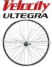 Velocity A23 Rear 700c Bike Wheel Shimano Ultegra 6800 Wheelsmith 8-11 speed