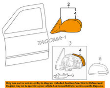 TOYOTA OEM 05-11 Tacoma Door Side Rear View-Mirror Assy Left 8794004170