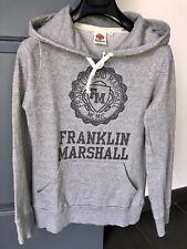 FRANKLIN MARSHALL Pull Sweat Capuche Gris L