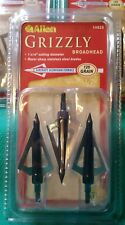 New Allen Archery Target Grizzly 3-Blade Broadhead (2 packs) 6 Total 125 Grain