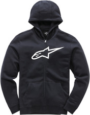 Youth Ageless Zip-Front Hoody Alpinestars L Black/White3038530101020L