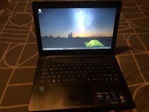 """ASUS Laptop, 14"""" 320gb HDD, 4GB Ram"""