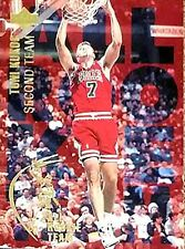 Toni Kukoc 1994 Upper Deck All Rookie Team Chicago Bulls Basketball card