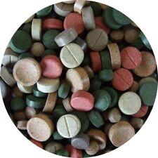 Futtertabletten TABLETTENMIX Tablettenfutter Tabletten Wels 13 Sorten Tab 1 kg