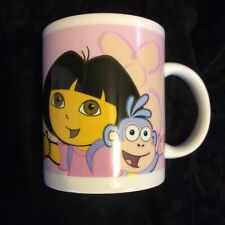 Dora The Explorer Mug Cup Dora Boots Coffee Tea Hot Chocolate Bilingual EN / FR