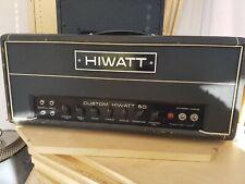 More details for vintage hiwatt dr504 amplifier head, 1973. working, good original condition.