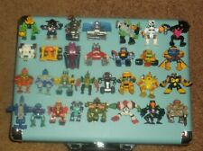 Nice Lot of 30 Z-Bots figures  galoob vintage zbots micro machines robots