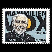 "France 2014 - Maximillian Vox ""1894-1974"" Art - Sc 4699 Mnh"