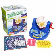 Deluxe Bingo Cage Game Lottery Toy Set Party Fun Game with All Accessories