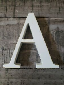 """Pottery Barn White Letter """"A"""""""