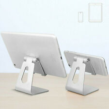 Adjustable Desktop Table Stand Holder Mount for iPad Tablet Phone Light Silver