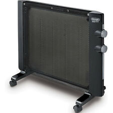 Micathermic Wall-Mountable Flat Panel Heater, Portable Convection Space Warmer